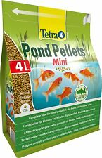 Tetra Pond Fish Pellet Mini 4L / 1050g - Posted Today if Paid Before 2pm
