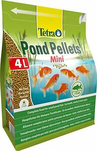 Tetra Pond Fish Mini Pellets 4L / 1050g - Complete Goldfish Koi Orfe Food