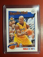 2019-20 NBA 🏀 HOOPS PANINI SHAQUILLE O'NEAL  # 283 TRIBUTE LA LAKERS..mint