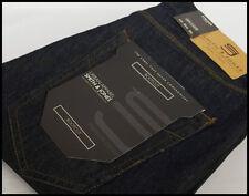 Smith & Jones Cotton Indigo, Dark wash Bootcut Jeans for Men