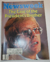 Newsweek Magazine Jimmy Carter's Brother August 4, 1980 101016R