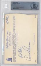 Arnold Palmer Autographed 3.5x5.5 Postcard Best Wishes Vintage Beckett 10213283