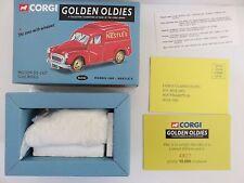 CORGI - GOLDEN OLDIES 06502 RED MORRIS 1000 - NESTLES-MINT- Limited edition