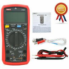 Uni T Ut890c Digital Lcd Multimeter Ac Dc Lcd Backlight Automotive Temperatur