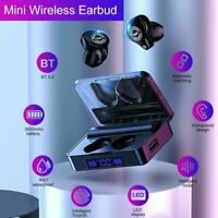TWS Wireless Earphone Bluetooth 5.0 Headset In-Ear Earbuds HiFi Stereo Headphone