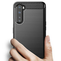 Silicone Cover Carbon Fiber Shockproof Shell For OnePlus Nord 1+ Protective Case