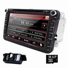 HIZPO Double Din In Dash DVD GPS Multimedia VW Volkswagen Passat Polo Skoda Seat