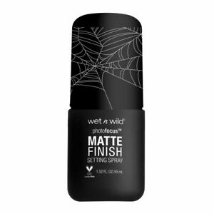 Wet n Wild Fantasy Makers Photo Focus MATTE FINISH Setting Spray Limited Edition