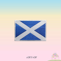 Scotland National Flag Embroidered Iron On Patch Sew On Badge