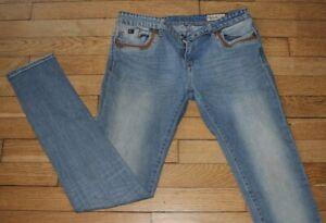 KAPORAL  Jeans pour Femme W 31 - L 32  Taille Fr 40 SLIM EMAE16W7J  (Réf # E506)