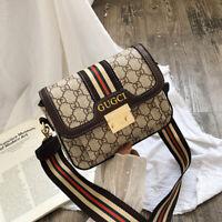 Women PU Leather Handbag Shoulder Cross Body Bag Tote Messenger Satchel Purse