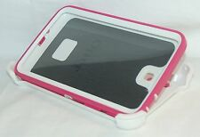 "OtterBox Defender Samsung Galaxy Tab 3 7.0"" in Tablet Case PINK & WHITE cover -C"