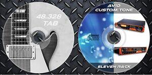 1.550 Patches Avid Eleven Rack Multi Effects Processor. & 48.328 Gitarre Noten