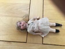 """8 1/2"""" Antique Doll In Very Poor State For Tlc"""