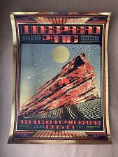 Subject Matter Studios WIDESPREAD PANIC RED ROCKS GOLD FOIL AP Signed Poster /60