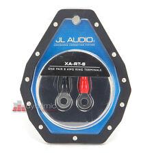 JL Audio XA-RT-8 Car Stereo 1 Pair of 8 AWG Crimpable Ring Terminals New