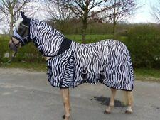 Hafer24 Deluxe Zebra - unsere meistverkaufte Weidedecke Fliegendecke - 165cm