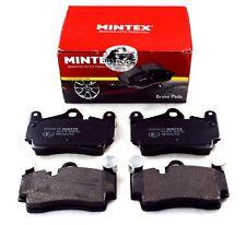 MINTEX REAR AXLE BRAKE PADS FOR AUDI PORSCHE VW MDB2752 (REAL IMAGE OF PART)