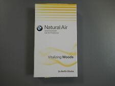 Original BMW Innenraumduft Natural Air Nachfüllset Vitalzing Woods 3 Sticks