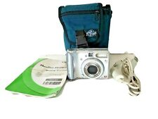 Canon PowerShot A540 6.0MP Digital Camera - Silver Works No Memory Card