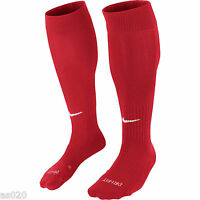 Nike Classic II Mens Adults Dri-FIT Football Soccer Sports Socks  University Red