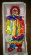 Rainbow Clown Dynasty Doll