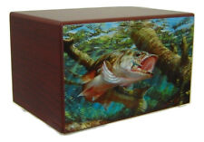 Underwater Fishing Cremation Urn for Ashes