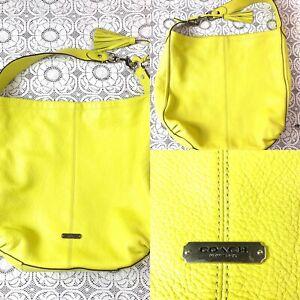 Coach Bag Women's M Yellow Inv#W1606