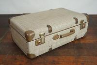 50er Vintage Koffer Oldtimer Reisekoffer Retro Schalenkoffer Weekender 9