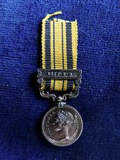 Genuine Victoria silver miniature Medal: S. Africa - Zulu War bar 1877-8-9.