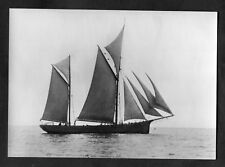 C1970s Maritime Museum Card: The British Ketch, H.F. Bolt