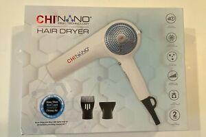 Chi Farouk Nano Ionic Hair Dryer Nano Silver Blue Light Technology