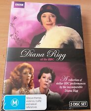 Diana Rigg At The BBC (DVD, 2012, 5-Disc Set) New Sealed  Region 4