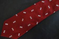 Nwot Brooks Brothers Boys Burgundy 1818 Silk Tie Msrp $44.50