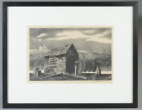 """Stow Wengenroth EARLY 1935 Original Signed Lithograph """"LONG COVE""""  - Stuckey-51"""
