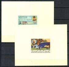 Mauritania 1977 Mi. 576-580 Foglietto 100% Foglietto di lusso ** Storia dell'av