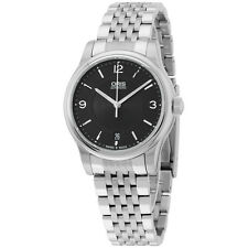 Oris Classic Date Black Dial Stainless Steel Men's Watch 73375784034MB