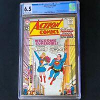 Action Comics #285 (DC 1962) 💥 CGC 6.5 💥 Supergirl's Existence Revealed! Comic