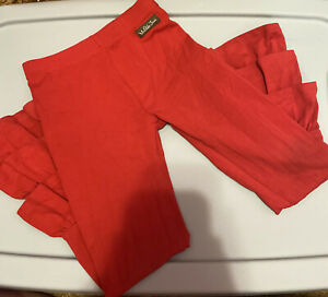 Girl's Matilda Jane Red Ruffle Pants Size 6