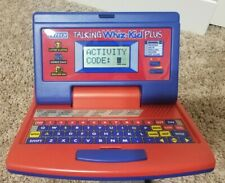 VTECH Talking Whiz Kids Plus Educational Laptop Computer Toy Vintage
