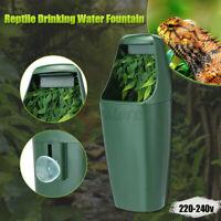 800ml Reptile Drinking Water Fountain Water Dripper Feeder Chameleon Lizard 110V