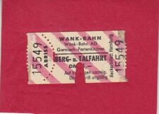 Garmisch-Partenkirchen - Wankbahn - Berg- und Talfahrt