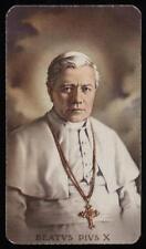 """santino-holy card""""""""ediz. FB*** n.332 S.PIO X PAPA"""