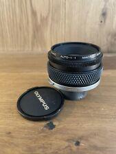 Opt Near Mint Olympus OM Zuiko Auto 1:1 Macro 80mm F/4 Lens From JPN #P6R-8