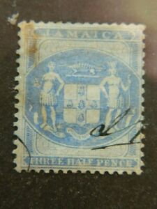 1909 JAMAICA  SG# F4 USED  POSTAL FISCAL
