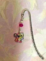 CUTE KOALA BOOKMARK WITH ENAMEL CHARM TIBETAN SILVER Present In Gift Bag