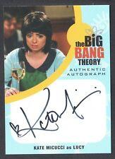 THE BIG BANG THEORY SEASON 6 & 7 Cryptozoic Autograph Card #KM1 KATE MICUCCI