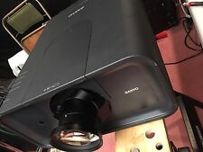 SANYO PLC-XP200L LCD Projector LOW Hours for Parts Or Repair