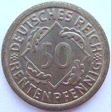alto! 50 MARCHI RENTENPFENNIG 1923 A in FIOR CONIO RARI