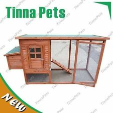 Brand New 1580mm chicken Coop Hen house Chook Hutch Run Cage T001S FREE PICK